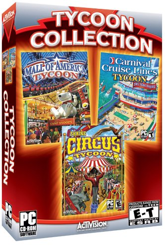 Tycoon Collection: Mall of America Tycoon, Windows XP