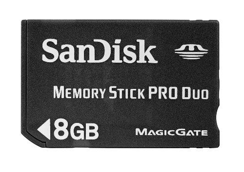 SanDisk 8GB Memory Stick Pro Duo Windows