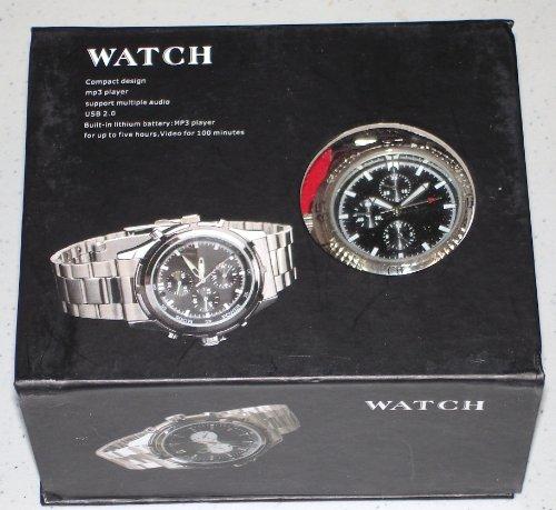 Super Spy Watch with Camera, 4gb Internal Memory