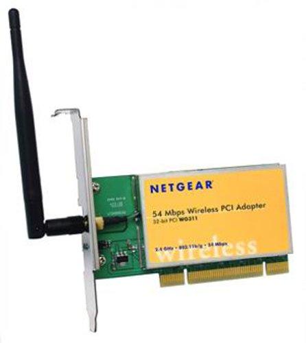 NETGEAR WG311 Wireless-G PCI Adapter Windows