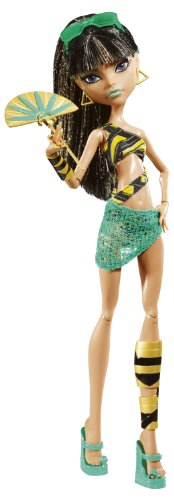 Monster High Gloom Beach Cleo De Nile Doll