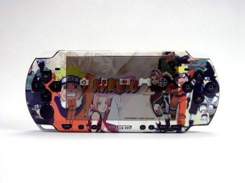 NARUTO PSP (Slim) Dual Colored Skin Sticker, Sony PSP