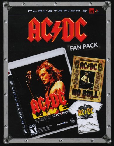 AC/DC Fan Pack: Includes Playstation 3 Edition of PS3
