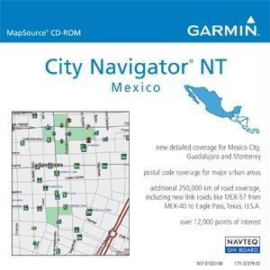 Garmin microSD Data Card, City Navigator Mexico NT
