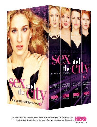 Sex and the City - The Complete Third Season [VHS]
