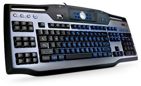 Logitech G11 Gaming Keyboard (Black/Silver) Windows