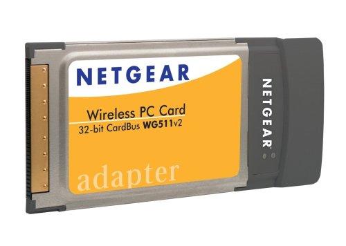 Netgear WG511NA Wireless G Pc Card Windows