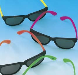 Neon Party Sunglasses (12/PKG)