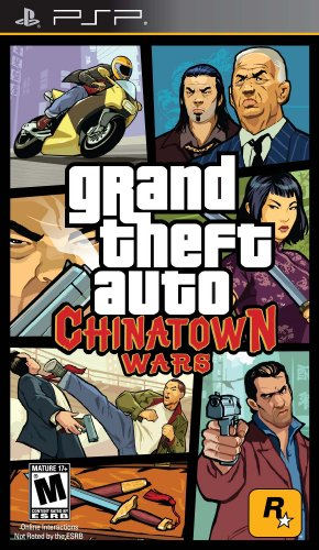 Grand Theft Auto: Chinatown Wars Sony PSP