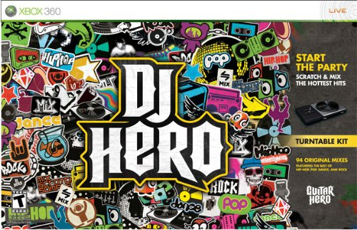 Xbox 360 DJ Hero Bundle with Turntable Xbox 360