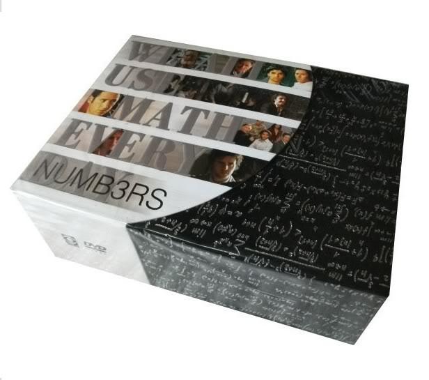 Numb3rs Seasons1-6 (44DVD Sealed Boxset)