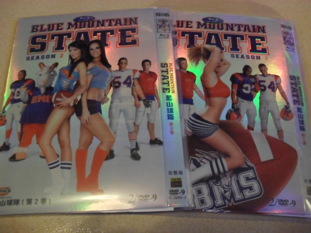 Blue Mountain State Seasons1-2 4DVD-D9