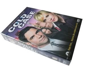 Cold Case seasons7 (8DVD Sealed Boxset)