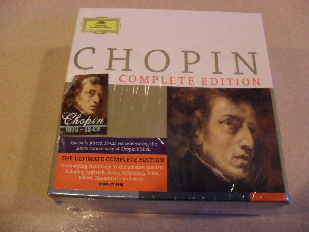 Chopin Complete Edition 17CD