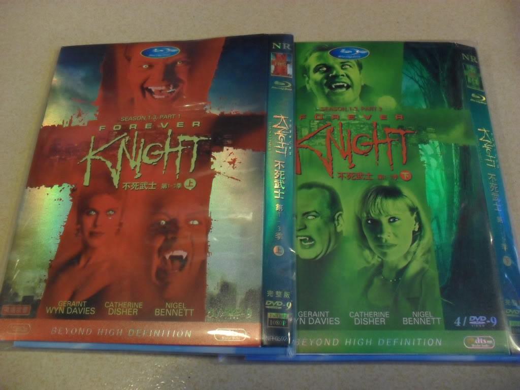 Forever Knight Season1-3 9DVD-D9