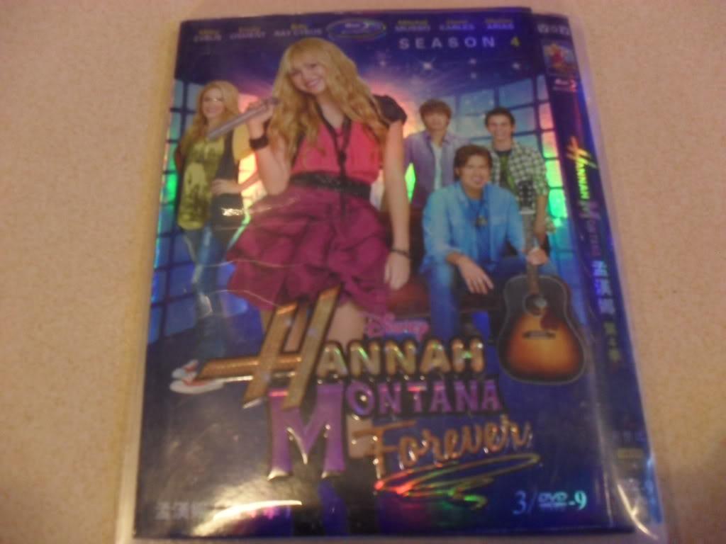 Hannah Montana Seasons4 3DVD-D9