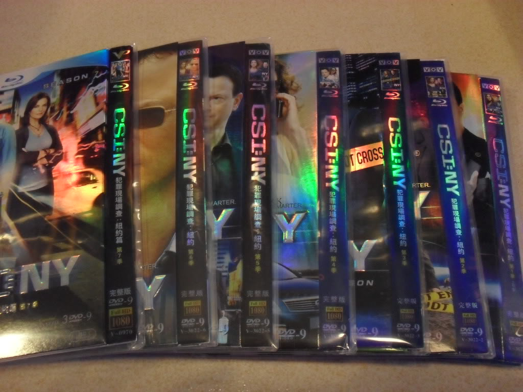 CSI:NY Complete Season1-7 21DVD-D9