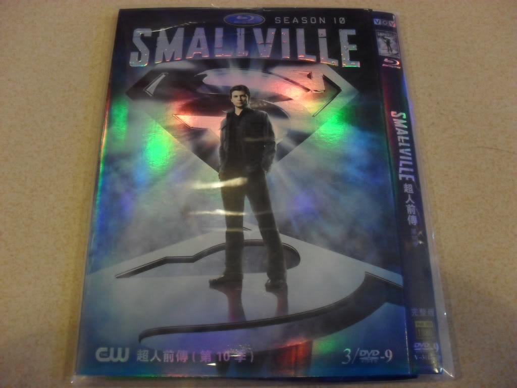Smallville The Seasons10 3DVD-D9