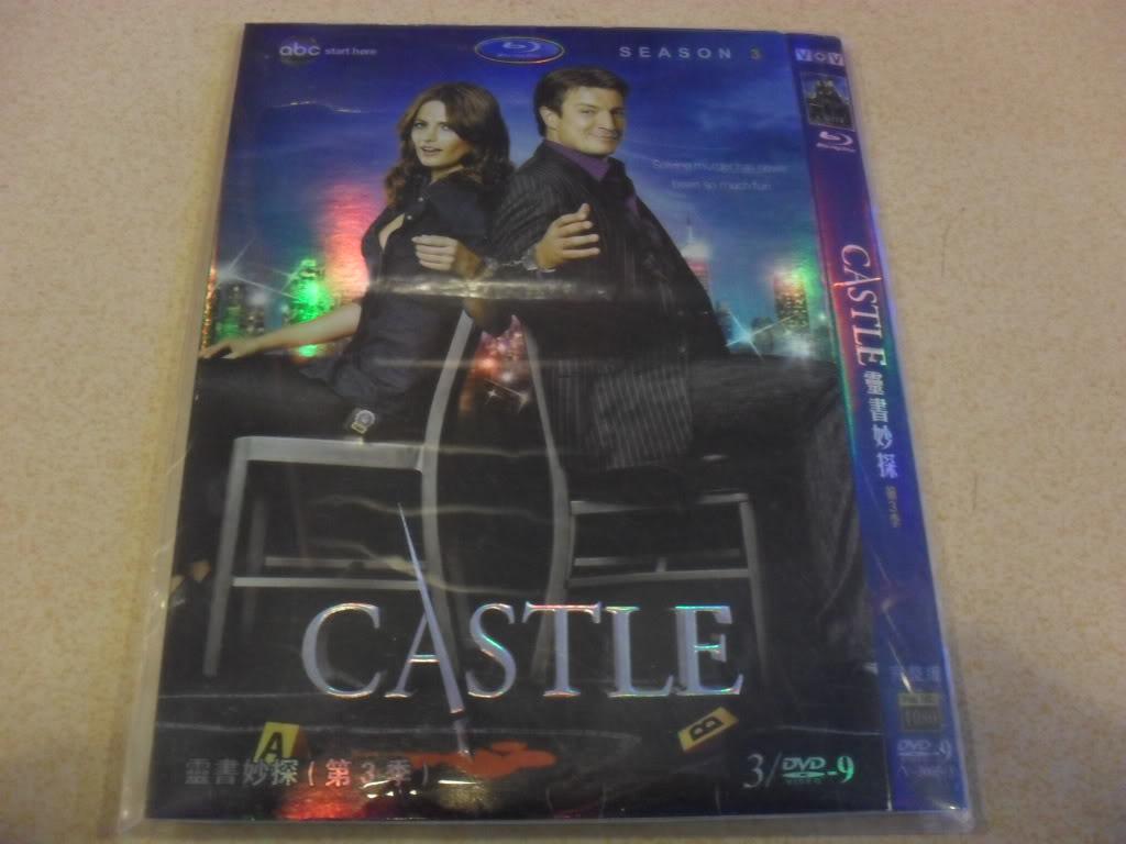 Castle Seasons3 3DVD-D9