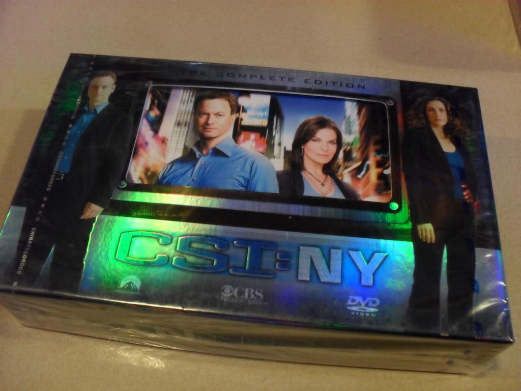 CSI:NY Complete Season1-7 (49DVD Sealed Boxset)