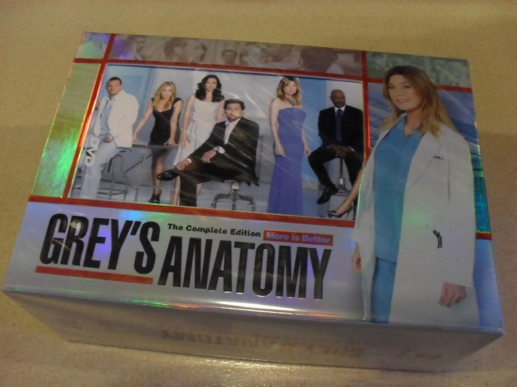 Grey's Anatomy Complete Seasons 1-7 (46DVD Sealed Boxset)