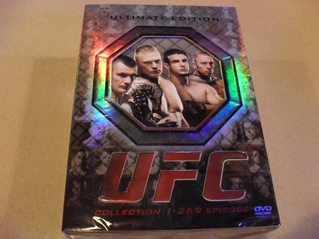 UFC Collection 1-269 episode 42DVD Sealed Boxset