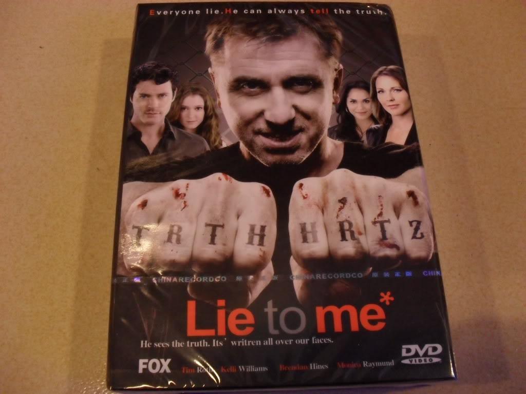 LIE TO ME Seasons3 (6DVD Sealed Boxset)