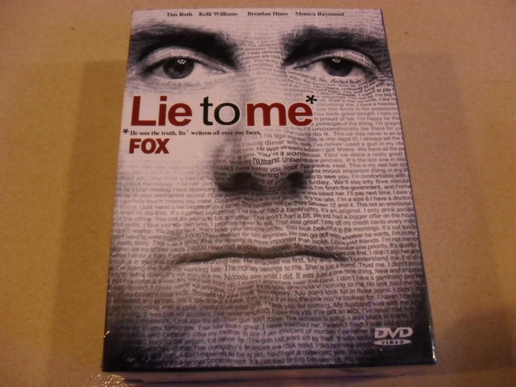 LIE TO ME  Seasons1-3 (20DVD Sealed Boxset)