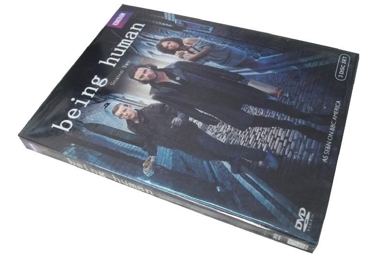being human Season2 (3DVD Sealed Boxset)