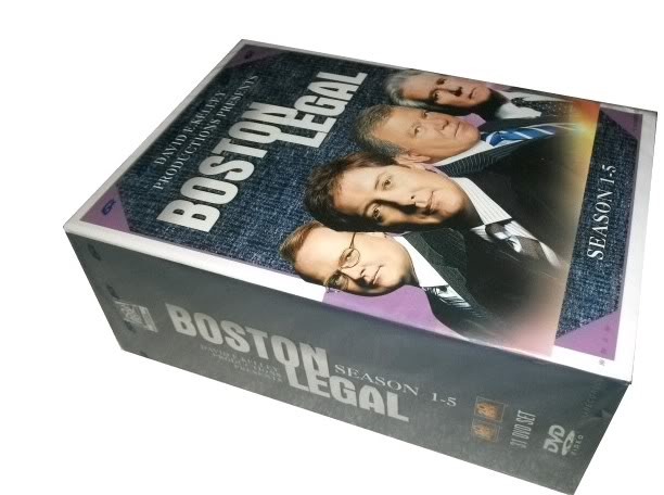 Boston Legal Seasons1-5 (31DVD Sealed Boxset)