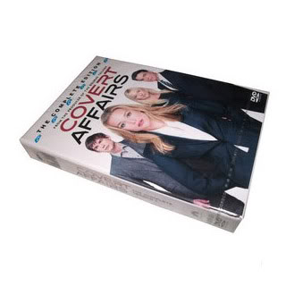 Covert Affairs Seasons1 (4DVD Sealed Boxset)