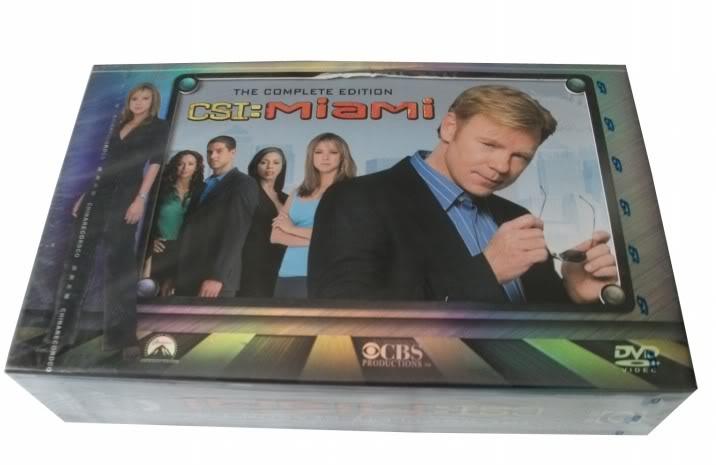 CSI Miami seasons 1-9 (62DVD Sealed Boxset)
