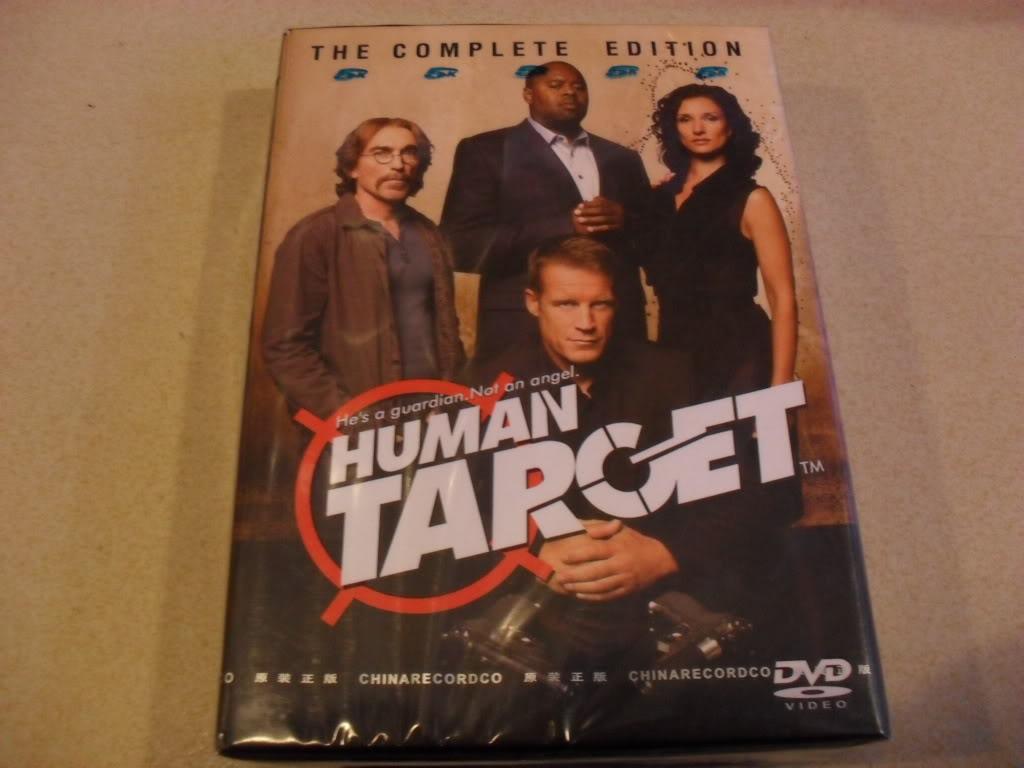 Human Target Seasons1-2 (11DVD Sealed Boxset)