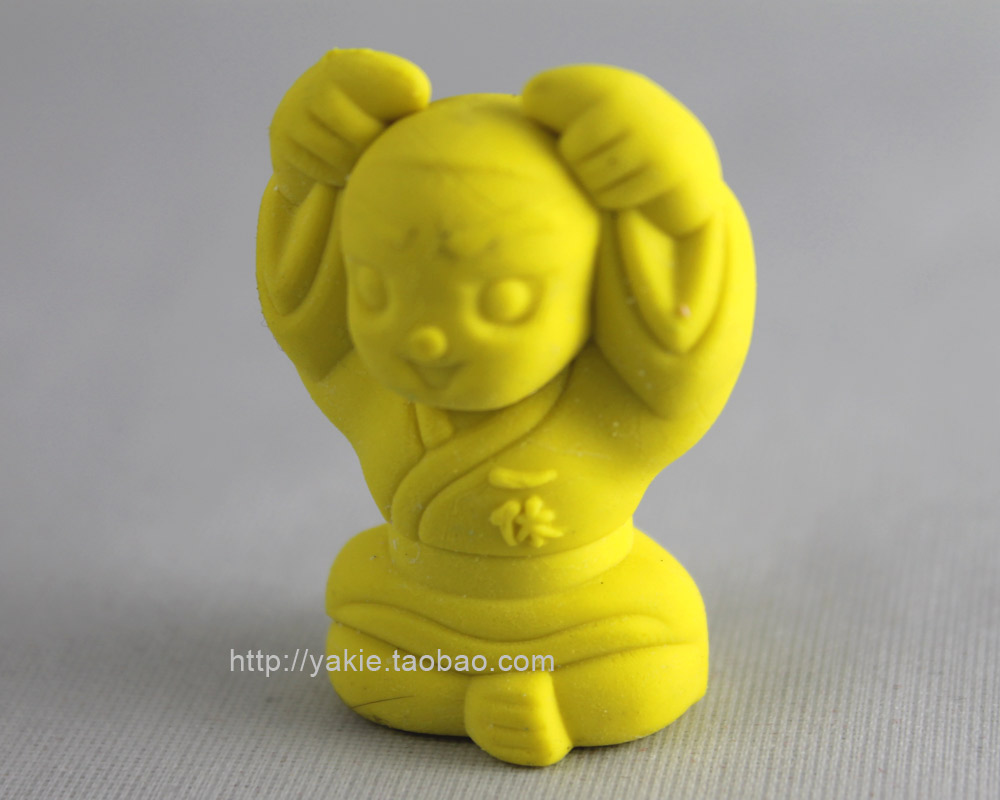 Free Shipping! Retail and wholesale Ikkyu eraser/Christmas gift/2011new School supplies