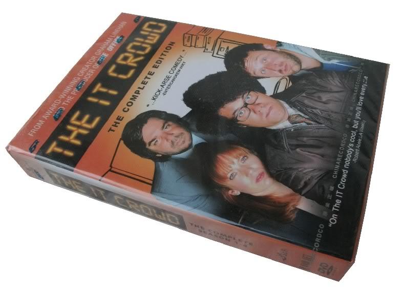 The it crowd Season1-4 (8DVD Sealed Boxset)