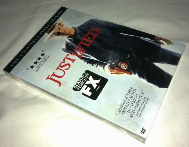 Justified seasons1 (3DVD Sealed Boxset)