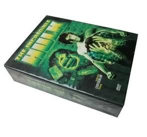 The Incredible Hulk 1-5 (20DVD Sealed Boxset)