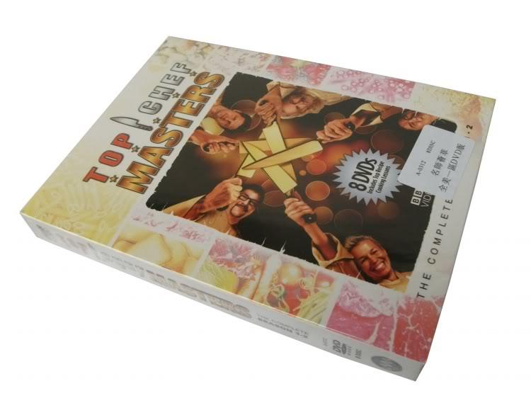 Top Chef Masters (8DVD Sealed Boxset)