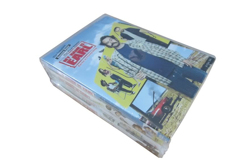 My Name is Earl seasons1-4 (16DVD Sealed Boxset)