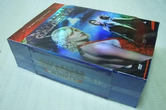 New Battlestar Galactica Seasons 1-4 (33DVD Sealed Boxset)