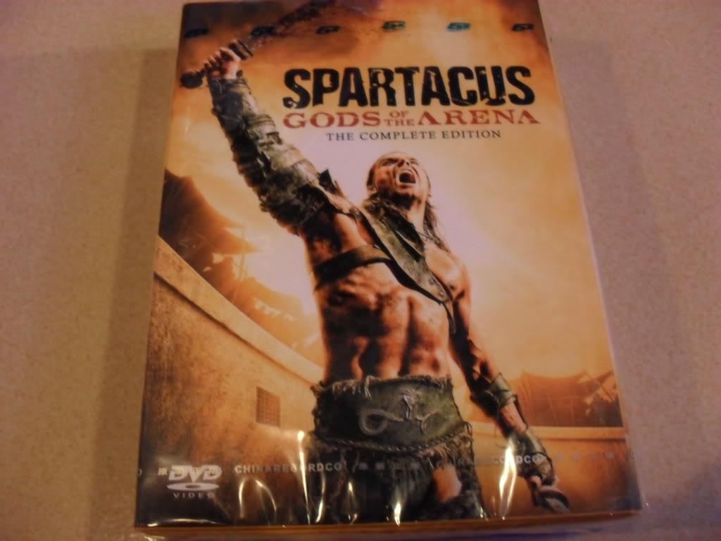 Spartacus:Gods of the Arena 6DVD Sealed Boxset