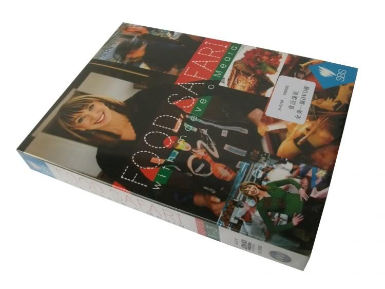 Food Safari Season 1-3 (10DVD Sealed Boxset)