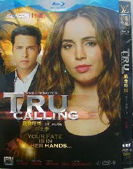 Tru Calling Seasons1-2 4DVD-D9