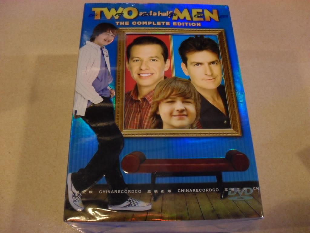 Two and a Half Men Seasons1-8 (40DVD Sealed Boxset)