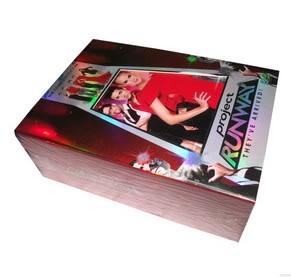PROJECT RUNWAY Seasons1-8 (42DVD Sealed Boxset)