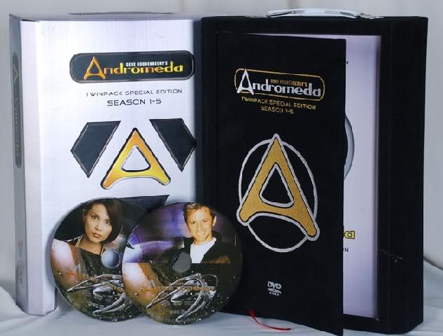 Andromeda Seasons1-5 (50DVD Sealed Boxset)