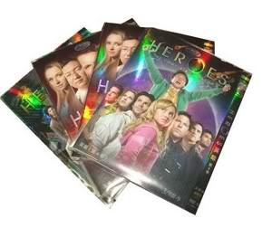 HEROES seasons 1-4 11DVD-D9