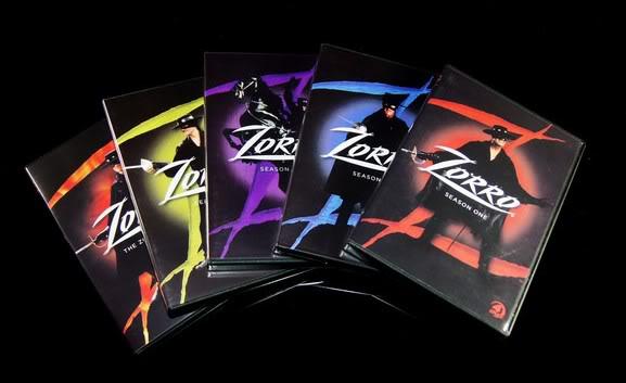 Zorro 15DVD Sealed Boxset