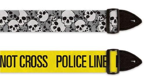 Guitar Straps - PoliceLine and Skull Valley - 2-Pack