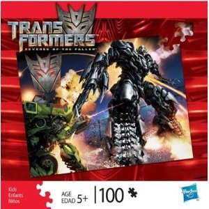 Transformers Revenge of the Fallen 100 Piece Puzzle